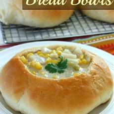 Homemade Bread Bowls!
