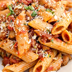 Whole Wheat Penne, Wholly Healthy and Wholly Comforting