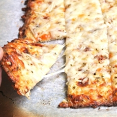 Gluten Free, Grain Free Cheesy Garlic Cauliflower Bread Sticks