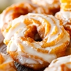 Pumpkin Spice Brulée Crullers & Honey n Spice Drippy Glaze