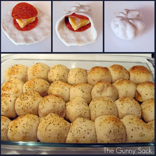 Easy Pepperoni Rolls