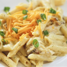 Weight Watchers – Cheddar Chicken Bacon Ranch Pasta