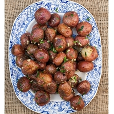 Grilled Red Creamer Potatoes