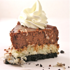 Creamy Coconut Cheesecake