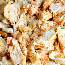 Buffalo Style Chicken Pasta Salad