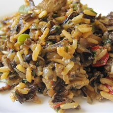 Wild Rice and Mushroom Dressing
