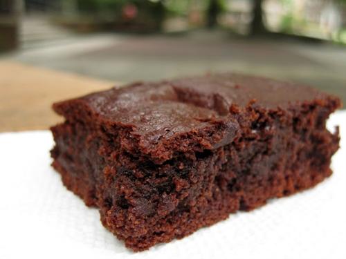 Chewy Paleo Brownie