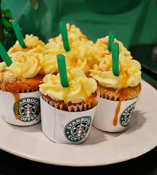 Starbucks Frappucinos Cupcake Style