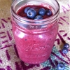 Pomegranate Blueberry Banana Smoothie
