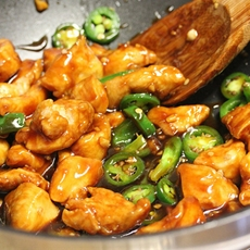 Chinese Jalapeno Chicken