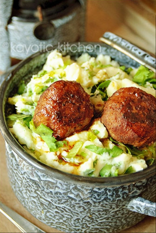 Dutch Meatballs & Gravy
