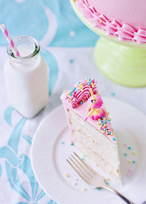 Perfectly Delightful Vanilla Birthday Cake