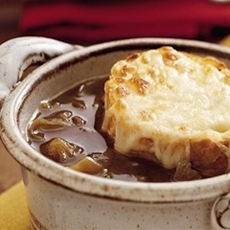 French Onion Soup - healthy crock pot recipe - 2 Weight Watchers