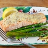 Easy Lemon Parmesan Baked Salmon