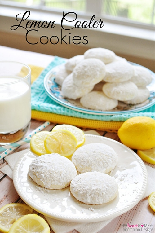 Lemon Cooler Cookies