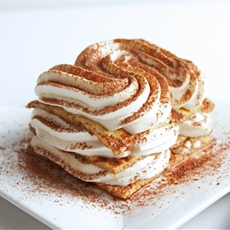 Low Carb Caramel Macchiatto Tiramisu