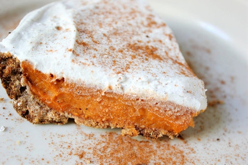 Vegan Sweet Potato Pie With Whipped Coconut Cream Frosting