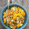 Roasted Squash & Farro Salad with Feta