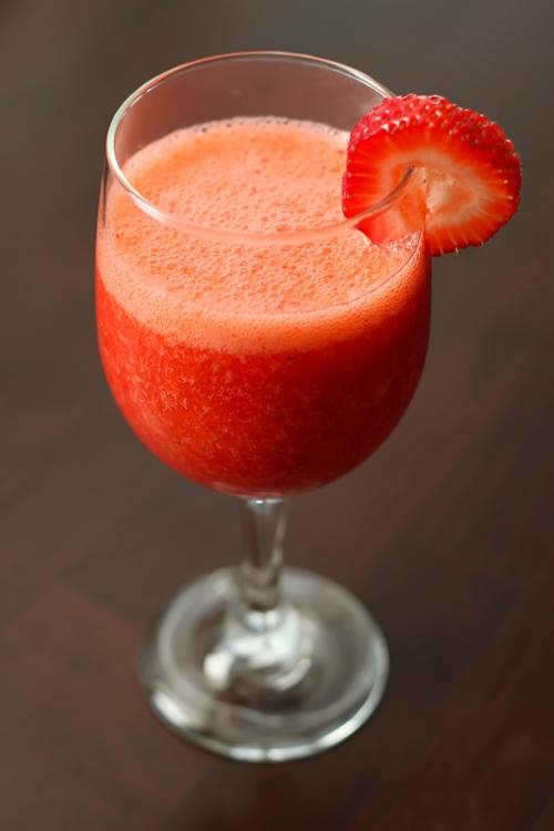 A Perfect Strawberry Daiquiri
