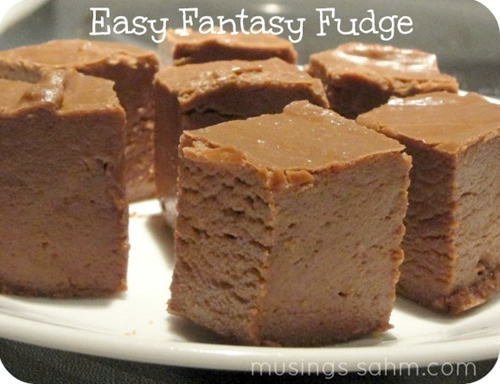 Easy Fantasy Fudge Recipe
