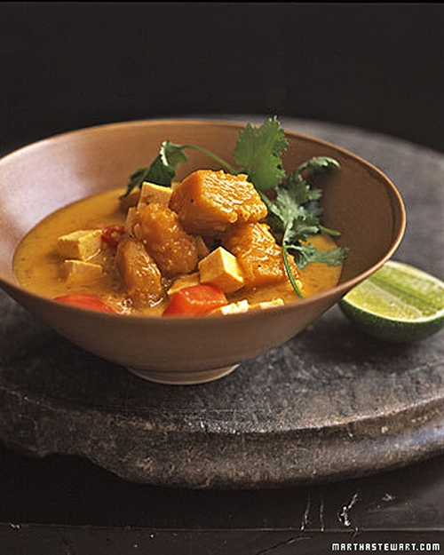 Curried Coconut-Pumpkin Stew
