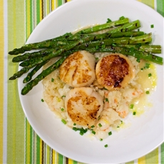 Truffled Shrimp Risotto