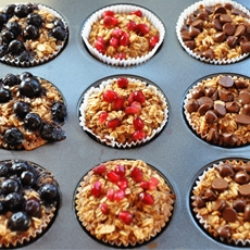 Clean Eating: Individual Baked Oatmeal Cups