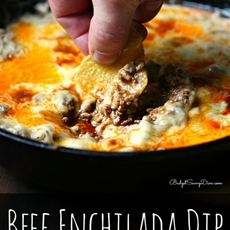 Beef Enchilada Dip Recipe