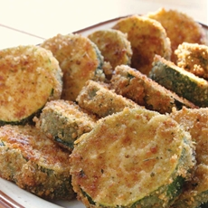 Breaded and Fried Zucchini
