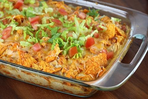 Dorito Chicken Casserole Recipe