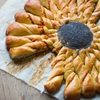 Party Pinwheel Bread with Bell Pepper Pesto