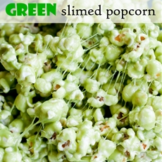Ghostbusters Green Slimed Popcorn