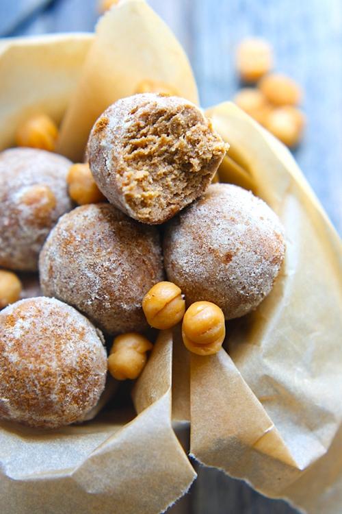 Salted Caramel Snickerdoodle Protein Balls {Gluten Free}