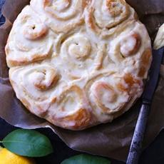 Meyer lemon rolls