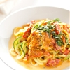 Zucchini Noodles with Sun Dried Tomato Cream Sauce