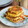 Spicy vegetable pancakes