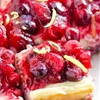 Clean Eating Cranberry Lemon Cheesecake Bars