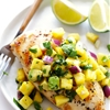 Grilled Chicken with Pineapple Avocado Salsa