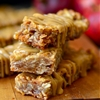 Chewy Peanut Butter Apple Granola Bars