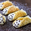 Mock Cannoli with Pizzelle and Vanilla Ricotta Cream