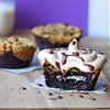 Cookies n Cream Stuffed Brookie {Gluten Free&Vegan}