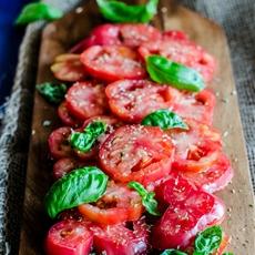 Tomato Salad - Southern Italian Style