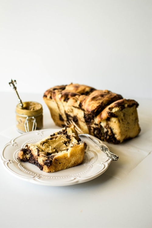 Chocolate and Hazelnut Pull-Apart Brioche