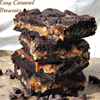 Easy Caramel Pecan Brownies