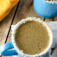 Healthy Pumpkin Coconut Latte