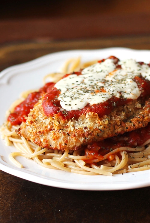 Oven-Baked Chicken Parmesan