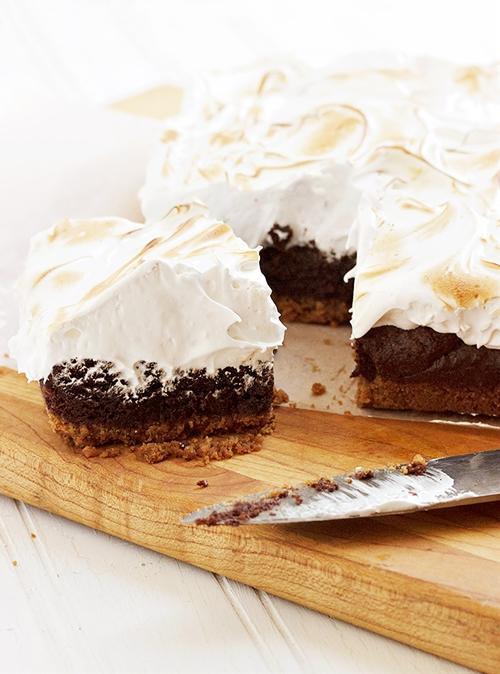Smores Brownie Bars