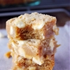 Peanut Butter White Chocolate Blondies