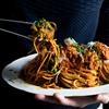 Pepperoni Meatballs Spaghetti