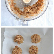 No Bake German Chocolate Bites